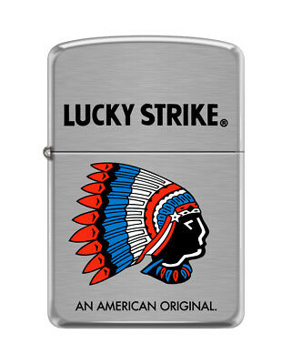 Lucky Strike Indian Chief - Lots of Color - 1941 Replica - 2015 Zippo MIB
