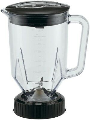 Model: CAC29- 48 oz. Polycarbonate Container Complete with Blade & Lid