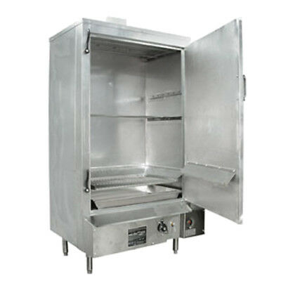 "24"" S/s MasterRange Smokehouse Natural Gas Right Hinged Door"