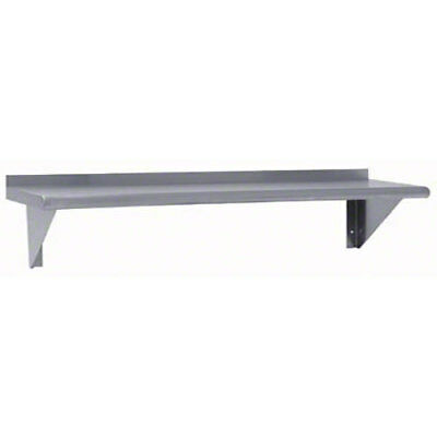 "Advance Tabco AWS-KD-48 48"" Aluminum Wall Mounted Shelf Knock Down"