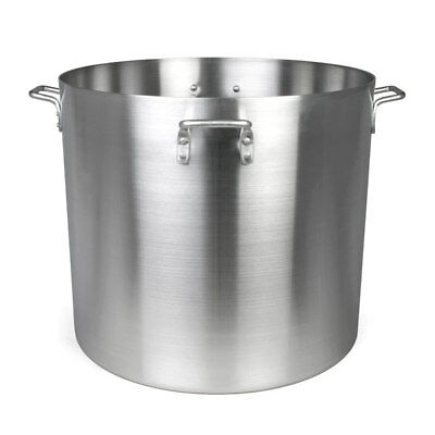 Thunder Group ALSKSP012 120qt Heavy Duty Aluminum Stock Pot w/ Mirror Finish