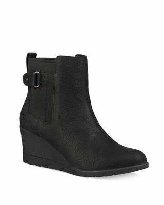 2b525be930a UGG AUSTRALIA WOMEN'S Indra Waterproof Wedge Boots Booties Ankle ...