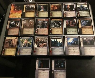 Lord of the Rings Trading Card Game,  20 Cards All Different  ( Set 1 )