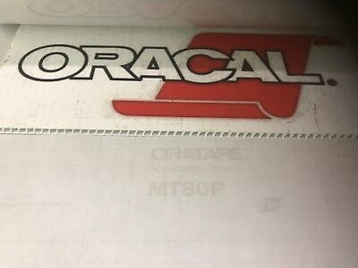 Oracal MT80P application / transfer tape