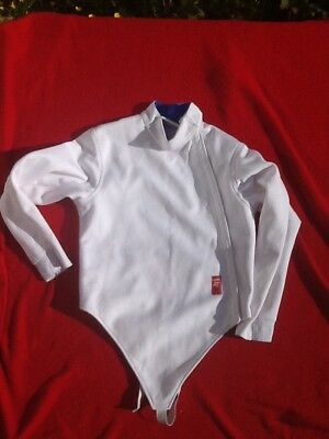 Fencing jacket swordfighters 350N size 36 junior right handed boys 12 year old