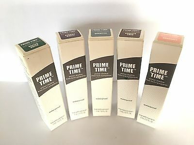 Bare Minerals Prime Time Base ombre 3ml ~étanche~ divers couleurs