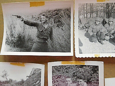 LOT of Mixed 10 Original Photos WW2 Photo WWII US Army Troops Korea Military Men