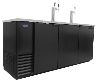 Nor-Lake NLDD-79 30.8cuft Four Keg Refrigerated Direct Draw Beer Cooler