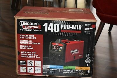 Lincoln Electric 140 Pro-Mig Mig/flux Cored Wire Feed Welder, K2480-1