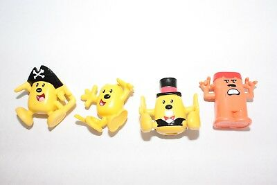 Wow Wow Wubbzy PVC 4 Figures 2007 Mattel 2007 Bolder Media Tattoos