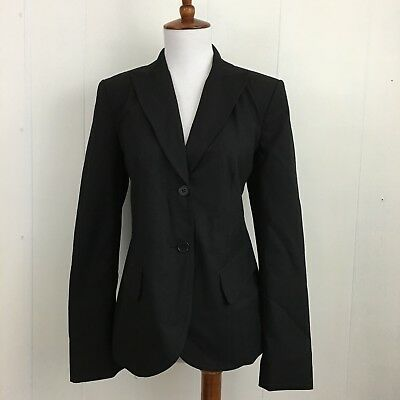 A Pea In The Pod Maternity NWT Black 2 Button Stretch Suiting Jacket Size S
