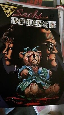 Sachs & Violens Issue 3 - 1994 - Heavy Hitters Epic Comics -
