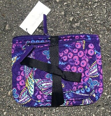 NEW Vera Bradley BATIK LEAVES Cosmetic Trio 3 Case Set EXACT