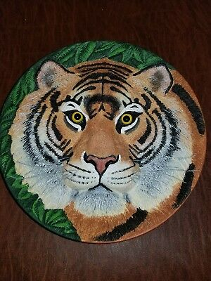Limited Edition Eye Of The Tiger Plate By Macintosh 3D
