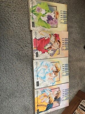 Level C Yaoi Manga Volumes 1-4