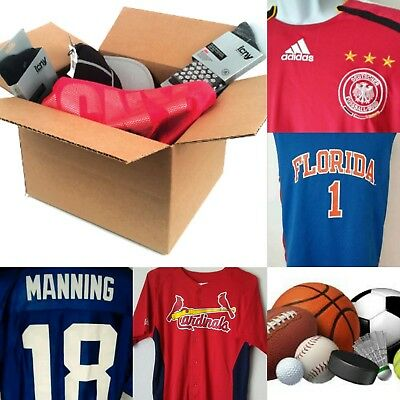 Lot of Mixed sport clothing,VTG, new, pre owned, jerseys caps shirts and more