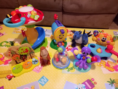 Used toddler toys bundle fisher price little tikes