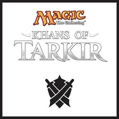 Khans of Tarkir Complete Set With Mythics. Sealed. Brand New In A Box.