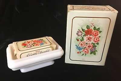 Vintage Avon Country Garden CHARISMA Soap and Dish, NEW with Box