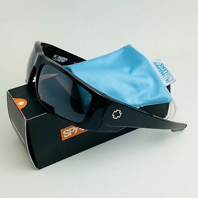 c210a60aad New Spy Optics Konvoy Sunglasses Gls Black Happy Black Mirror Polarized  ~BLEMISH