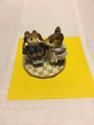 Wee Forest Folk M-137 First Haircut Mint/Retired/Box