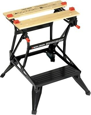 BLACK+DECKER WM536-XE Workmate Dual Height Workbench, Black