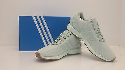 ADIDAS ZX Flux Vapor Green S79929 Size 9.5 BRAND NEW IN BOX!!!