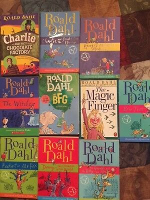Roald Dahl Book Lot! The BFG, Charlie and the Chocolate Factory,The Witches,etc!