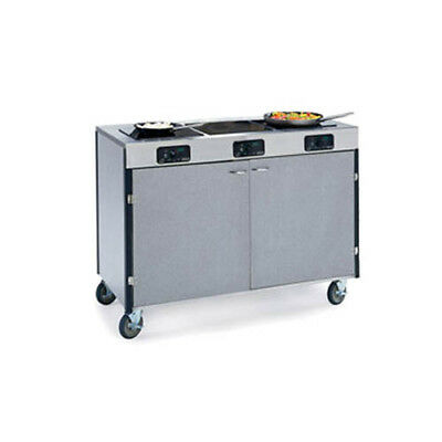 "Lakeside 2080 48""x22""x35-1/2"" Creation Express Station Mobile Cooking Cart"