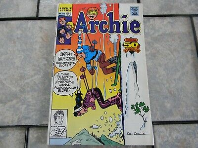 ARCHIE 5OTH ANNIVERSARY 1991 Archie Comic Book