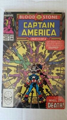Captain America #359 **1st appearance of Crossbones (cameo)**