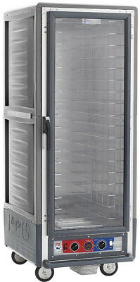 Metro C539-HFC-4-GY Full Height Insulated Holding Cabinet With Fixed Pan Slides