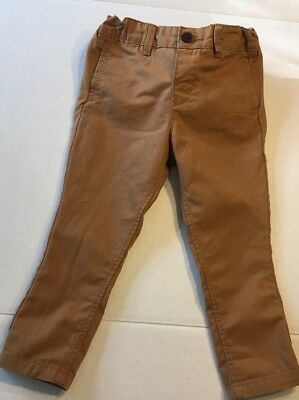Gymboree Loch Ness Heroes Boys size 18 24 2T Brown Corduroy Pants NWT U PICK