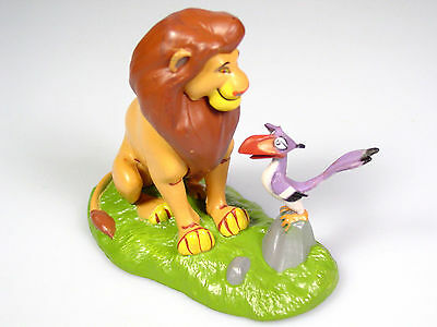 Disney Lion King toy Simba Zazu Figure cake topper