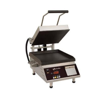 "Star PST7IE Pro-Max 2.0 Sandwich Grill with 7.5"" Smooth Cast Iron Plates"