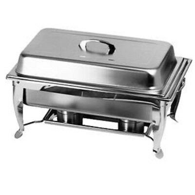 Thunder Group 8qt Stainless Steel Full Sized Foldable Frame Chafing Dish