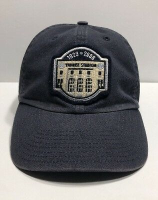 a93f38413 ... new york yankees yankee stadium 1923 2008 patch hat cap men fitted xl  blue