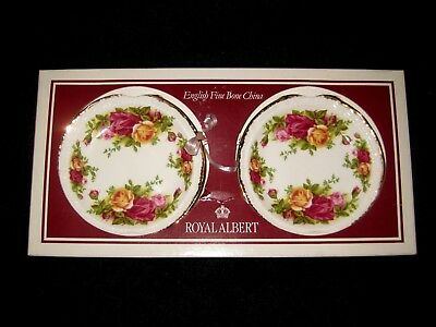 """Royal Albert """" Old Country Roses """" Set Of 2 Coasters*new Inbox*perfect*"""