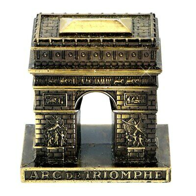 Metal Paris Arc de Triomphe Statue Replica Made in France (2 Inches)