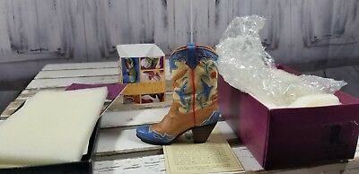 Just The Right Shoe Raine Willets Drops Heel Home on Range Boot cowboy 25095