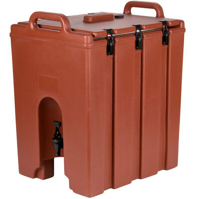 Cambro 1000LCD402 Camtainer 11-3/4 gallon Beverage Carrier - Brick Red