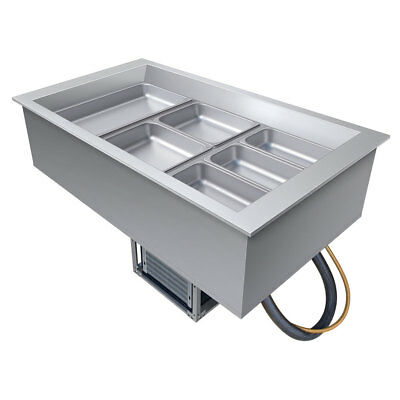 Hatco CWB-3 Drop-In Refrigerated Well w/ (3) Pan Size Top Mount
