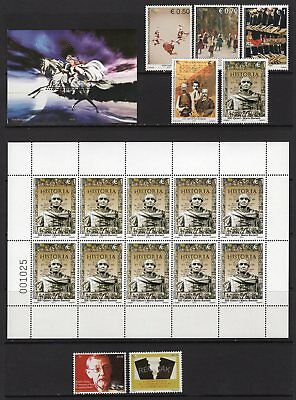 Kosovo 2009-2012 Group of Stamps + Sheets MNH Face Value 17.40 Euros