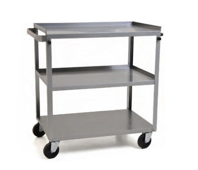 "Eagle Group UC-311 3-tier 16-3/4""Wx27-5/8""Dx32""H Stainless Steel Utility Cart"