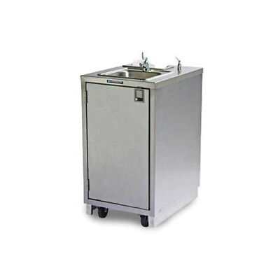 Lakeside 9620 Stainless Steel Mobile Hand Washing Station