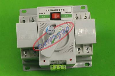 Q3R-63 New Intelligent Mini 63A 3-Phase Dual Power Automatic Transfer Switch