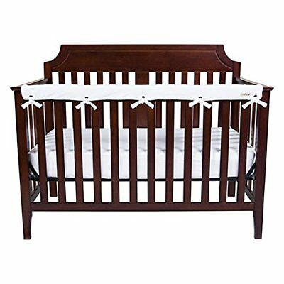 Trend Lab Waterproof CribWrap Rail Cover - For Narrow Long Crib Rails Made to