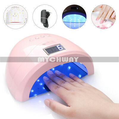48W UV Nail Dryer LED Light Nail Lamp Timer Manicure Tool for All Gel Polish NEW