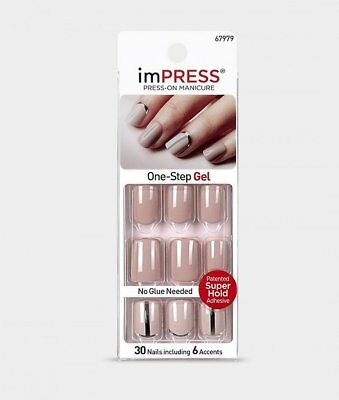 imPRESS Nails SO UNEXPECTED Nude Künstliche Fingernägel Press-On Kiss/Broadway