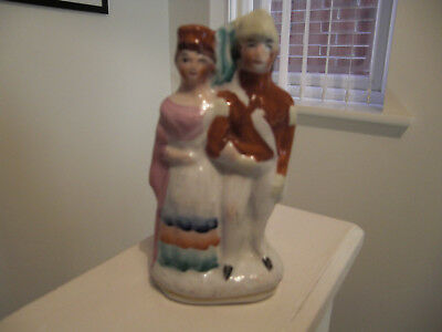 Staffordshire Soldier and Sweetheart Crimean War